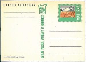 MINERALS \ EAGLES - POSTAL STATIONERY : POLAND