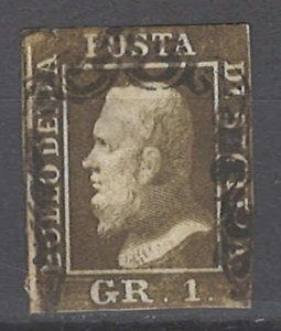 COLLECTION LOT # 2099 TWO SICILES #12h 1859 CV=$240