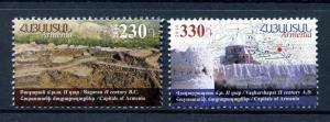 Armenia 2016 MNH Ancient Capitals Bagaran Vagharshapat 2v Architecture Stamps