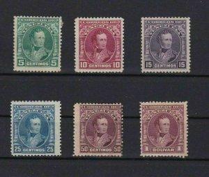 VENEZUELA 1904 MOUNTED MINT STAMPS CAT £15+ REF 6206