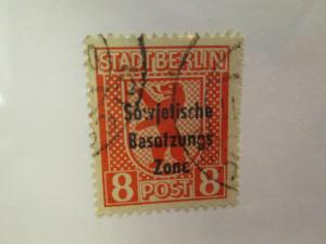 Germany #10N24 used