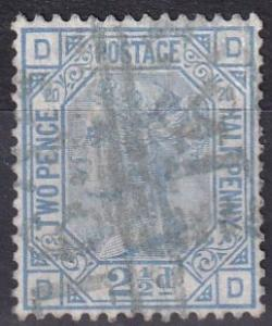 Great Britain #68 Plate 20  Used  CV $65.00 (K2121)