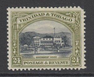Trinidad & Tobago, Scott 40a (SG 236a), MHR