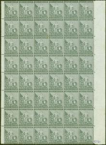Cape of Good Hope 1875 1/2d Grey-Black SG28 Superb MNH Marginal Block of 48