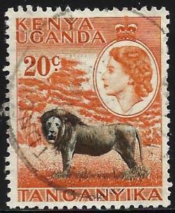 Kenya Uganda Tanzania 1954 Scott# 107 Used