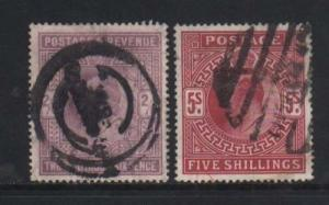 Great Britain #139 - #140 Used Duo