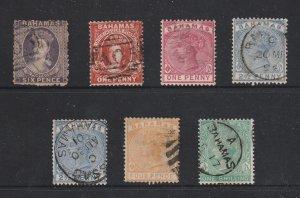 Bahamas a small lot of used QV