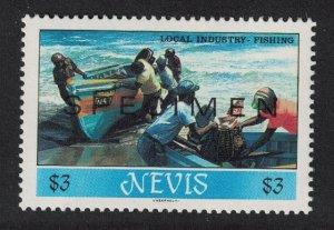 Nevis Fishing Local Industries SPECIMEN 1986 MNH SG#405
