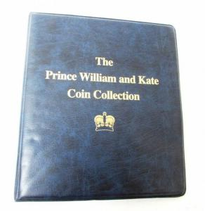 Prince William and Kate Coin and Stamp Collection **