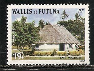 Wallis and Futuna Islands 299 1983 House single MNH