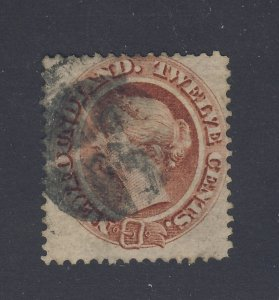 Newfoundland Used Stamp; #29-12c Used F/VF Guide Value = $45.00
