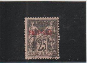 Port Said  Scott#  9  Used  (1899 Overprint)