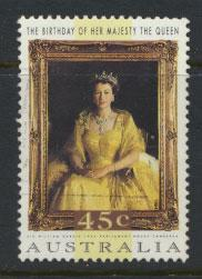 Australia SG 1449  Used  QE II birthday