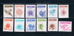 Togo 1862-73 Set MNH Flowers (T0028)
