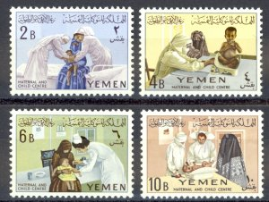 Yemen Sc# 131-134 MNH 1962 Child Welfare