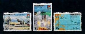 [102298] Kiribati 1980 Space travel weltraum satellite tracking  MNH