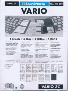 25 LIGHTHOUSE VARIO 3C CLEAR STOCK SHEETS 5 PACKAGES OF 5