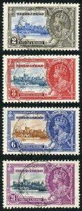 Trinidad and Tobago SG239/42 1935 Silver Jubilee Set Fine Used