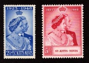 ST. KITTS AND NEVIS  SC# 93-94  FVF/MNH