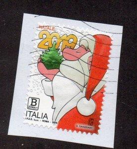 ITALY - 2019 - CHRISTMAS - SANTA CLAUS - Used - Unstucked -