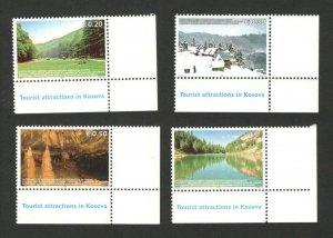 KOSOVO - MNH - SET - TOURIST ATTRACTION - 2006.
