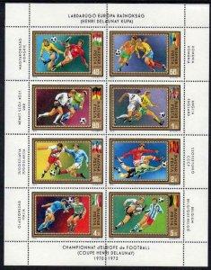 1972 Hungary 2751-2758KL 1972 UEFA European Championship 8,50 €