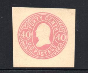 U73 Mint 4  Margin copy CV $120