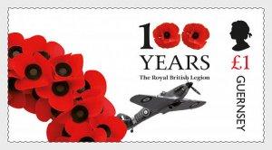 2021 Guernsey Royal British Legion II (Scott NA) MNH
