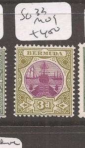Bermuda Boat SG 33 MOG (3awe)