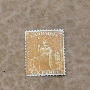 Barbados 55 VFMNG, CV $180