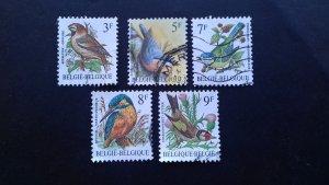 Belgium 1990's Birds Used