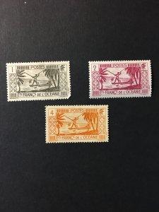 French Polynesia sc 80,81,83 MH