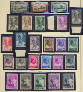 Belgium Stamp Scott #B166//B211 Mint Hinged 1935-8 Semi-Postal Sets Missing S...