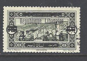 Lebanon Sc # 81 used (RS)