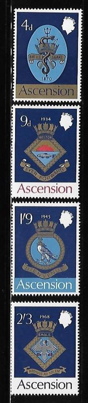 Ascension 1969 Coat of Arms of Royal Naval MNH A708