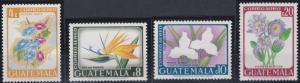 Guatemala C352-C355 MNH (1967)