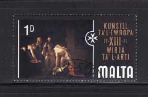 Malta 409 MNH Art, Painting (B)