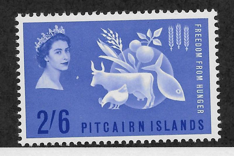 Pitcairn Islands 35 VF MNH Freedom From Hunger