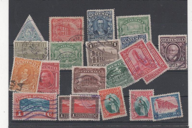 GUATEMALA STAMPS SHOW DEALER CLOSEOUT LOT 520  0917