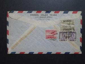 Iraq 1954 Commercial Cover to USA (III) - Z8599