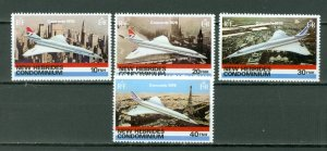 NEW HEBRIDES BRITISH...CONCORDE #254-257...SET...MNH...$5.20
