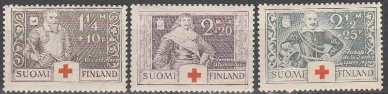 Finland #B15-7  F-VF Unused CV $2.75   (A6279)