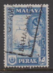 Malaya Perak Sc#133 Used