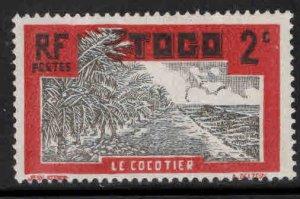 TOGO Scott 217 MH* stamp