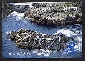 Booklet - Faroe Islands 1992 Seals 22k20 booklet complete...