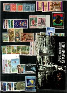 Mauritius - Mint NH sets and booklet lot - Catalog Value $60.35 [TC778]