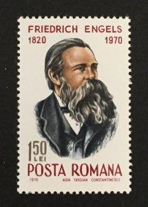 Romania 1970 #2186, Frederick Engels, MNH.