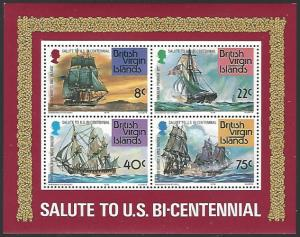 British Virgin Islands #312a MNH Souvenir Sheet