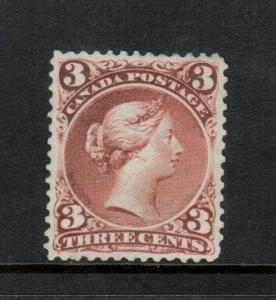 Canada #25 Extra Fine Mint Regummed To Look Never Hinged