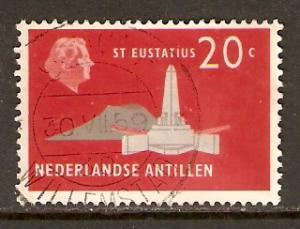 Netherlands Antilles   #248  used  (1958)
